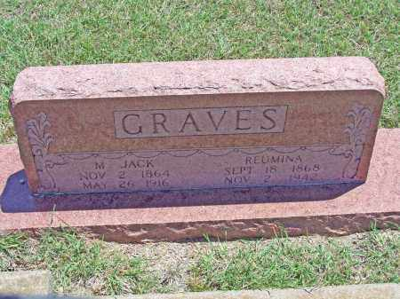 GRAVES, M JACK - Parker County, Texas | M JACK GRAVES - Texas Gravestone Photos