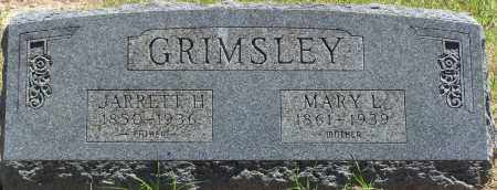 GRIMSLEY, JARRETT H - Parker County, Texas | JARRETT H GRIMSLEY - Texas Gravestone Photos