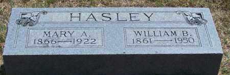 HASLEY, WILLIAM B - Parker County, Texas   WILLIAM B HASLEY - Texas Gravestone Photos