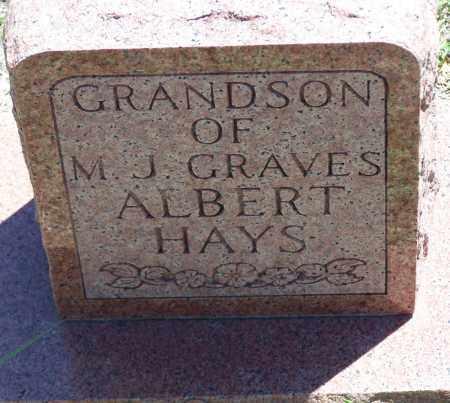 HAYS, ALBERT - Parker County, Texas | ALBERT HAYS - Texas Gravestone Photos