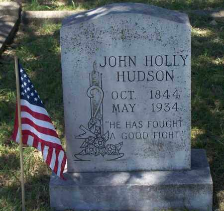 HUDSON, JOHN HOLLY - Parker County, Texas | JOHN HOLLY HUDSON - Texas Gravestone Photos