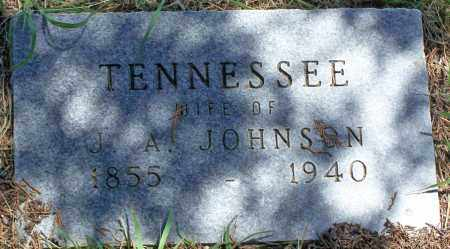 JOHNSON, TENNESSEE - Parker County, Texas | TENNESSEE JOHNSON - Texas Gravestone Photos