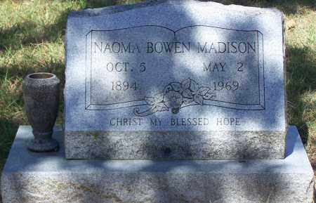 BOWEN MADISON, NAOMA - Parker County, Texas | NAOMA BOWEN MADISON - Texas Gravestone Photos