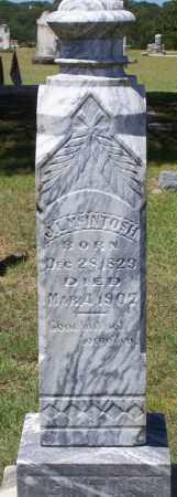 MCINTOSH, J L - Parker County, Texas | J L MCINTOSH - Texas Gravestone Photos