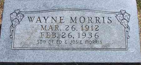 MORRIS, WAYNE - Parker County, Texas | WAYNE MORRIS - Texas Gravestone Photos