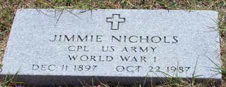 NICHOLS (VETERAN WWI), JIMMIE - Parker County, Texas | JIMMIE NICHOLS (VETERAN WWI) - Texas Gravestone Photos