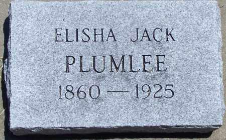 PLUMLEE, ELISHA JACK - Parker County, Texas   ELISHA JACK PLUMLEE - Texas Gravestone Photos
