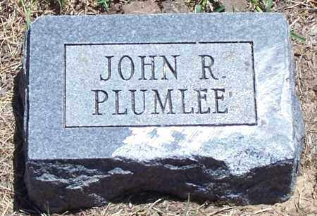 PLUMLEE, JOHN R - Parker County, Texas | JOHN R PLUMLEE - Texas Gravestone Photos