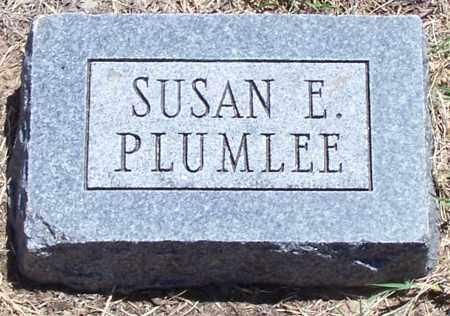 PLUMLEE, SUSAN E - Parker County, Texas | SUSAN E PLUMLEE - Texas Gravestone Photos