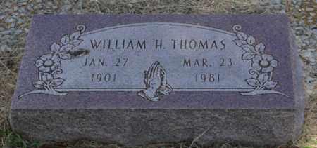 THOMAS, WILLIAM H - Parker County, Texas | WILLIAM H THOMAS - Texas Gravestone Photos