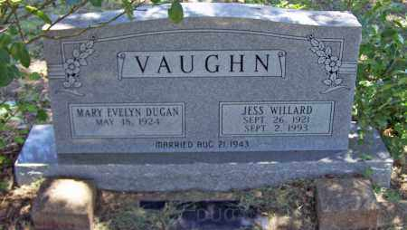 VAUGHN, JESS WILLARD - Parker County, Texas | JESS WILLARD VAUGHN - Texas Gravestone Photos