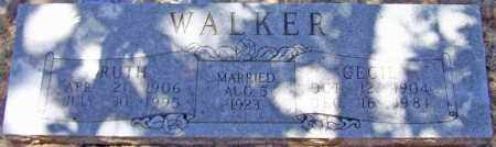 WALKER, CECIL - Parker County, Texas | CECIL WALKER - Texas Gravestone Photos