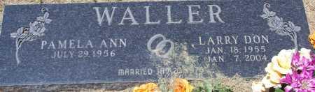 WALLER, LARRY DON - Parker County, Texas   LARRY DON WALLER - Texas Gravestone Photos