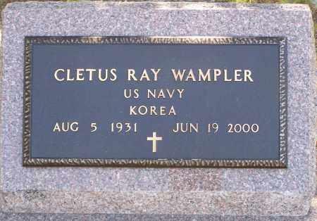 WAMPLER (VETERAN KOR), CLETUS RAY - Parker County, Texas | CLETUS RAY WAMPLER (VETERAN KOR) - Texas Gravestone Photos