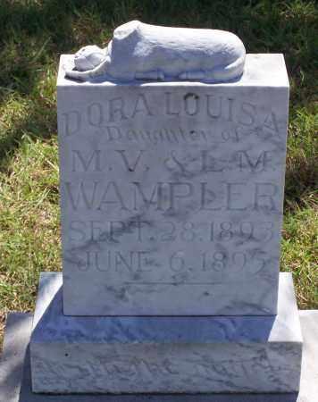 WAMPLER, DORA LOUISA - Parker County, Texas | DORA LOUISA WAMPLER - Texas Gravestone Photos