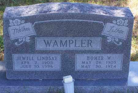 WAMPLER, HOMER WILLIAM - Parker County, Texas | HOMER WILLIAM WAMPLER - Texas Gravestone Photos