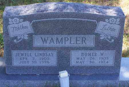 WAMPLER, HOMER WILLIAM - Parker County, Texas | HOMER WILLIAM WAMPLER - Texas Gravestone Photos