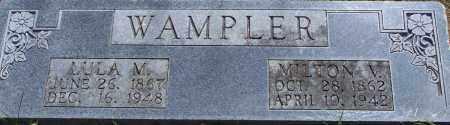 WAMPLER, MILTON M - Parker County, Texas | MILTON M WAMPLER - Texas Gravestone Photos