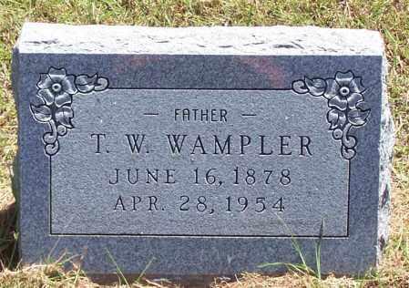 WAMPLER, T W - Parker County, Texas | T W WAMPLER - Texas Gravestone Photos