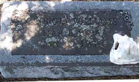 WILLIAMS, GEORGIA - Parker County, Texas | GEORGIA WILLIAMS - Texas Gravestone Photos