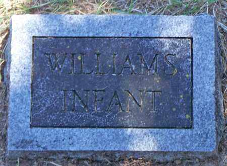 WILLIAMS, INFANT - Parker County, Texas | INFANT WILLIAMS - Texas Gravestone Photos