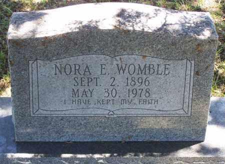 WOMBLE, NORA E. - Parker County, Texas | NORA E. WOMBLE - Texas Gravestone Photos