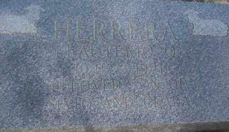 HERRERA, ELAUTERIO Q. - Pecos County, Texas | ELAUTERIO Q. HERRERA - Texas Gravestone Photos
