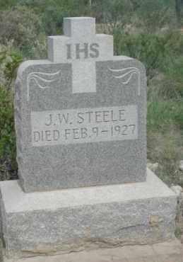 STEELE, J.W. - Pecos County, Texas | J.W. STEELE - Texas Gravestone Photos