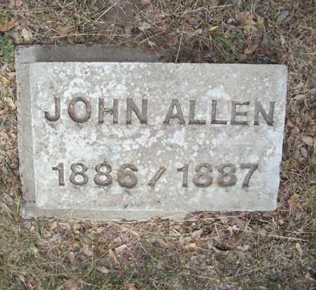 ALLEN, JOHN - Real County, Texas   JOHN ALLEN - Texas Gravestone Photos