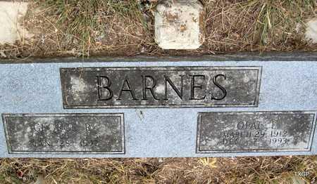 TWILIGEAR BARNES, OPAL LORAINE - Real County, Texas   OPAL LORAINE TWILIGEAR BARNES - Texas Gravestone Photos