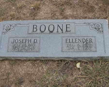 BOONE, ELLENDER - Real County, Texas | ELLENDER BOONE - Texas Gravestone Photos