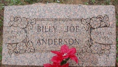 ANDERSON, BILLY JOE - Red River County, Texas | BILLY JOE ANDERSON - Texas Gravestone Photos