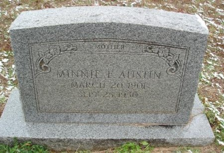 AUSTIN, MINNIE F - Red River County, Texas | MINNIE F AUSTIN - Texas Gravestone Photos
