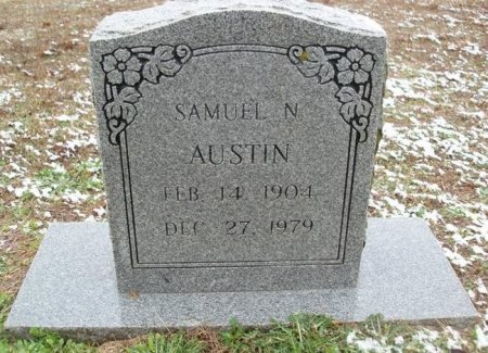 AUSTIN, SAMUEL N - Red River County, Texas | SAMUEL N AUSTIN - Texas Gravestone Photos