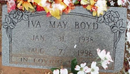 BOYD, IVA MAY - Red River County, Texas | IVA MAY BOYD - Texas Gravestone Photos