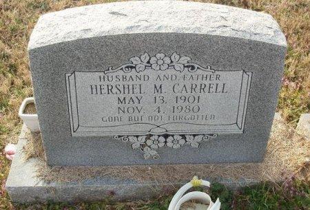 CARRELL, HERSHEL M - Red River County, Texas | HERSHEL M CARRELL - Texas Gravestone Photos