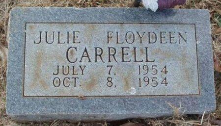CARRELL, JULIE FLOYDEEN - Red River County, Texas | JULIE FLOYDEEN CARRELL - Texas Gravestone Photos