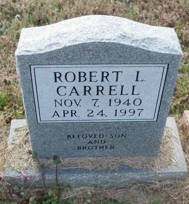 CARRELL, ROBERT L - Red River County, Texas | ROBERT L CARRELL - Texas Gravestone Photos