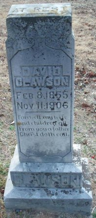 CLAWSON, DAVID - Red River County, Texas | DAVID CLAWSON - Texas Gravestone Photos