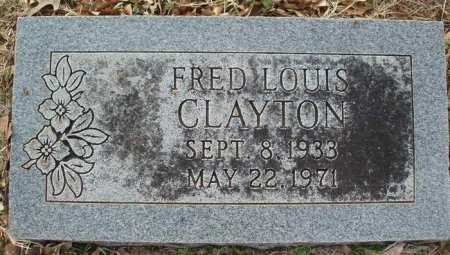 CLAYTON, FRED LOUIS - Red River County, Texas | FRED LOUIS CLAYTON - Texas Gravestone Photos