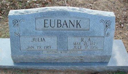 EUBANK, JULIA - Red River County, Texas | JULIA EUBANK - Texas Gravestone Photos