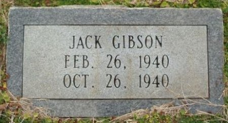 GIBSON, JACK - Red River County, Texas | JACK GIBSON - Texas Gravestone Photos