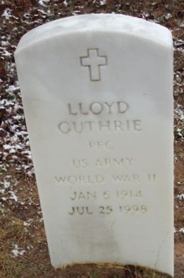 GUTHRIE (VETERAN WWII), LLOYD - Red River County, Texas | LLOYD GUTHRIE (VETERAN WWII) - Texas Gravestone Photos