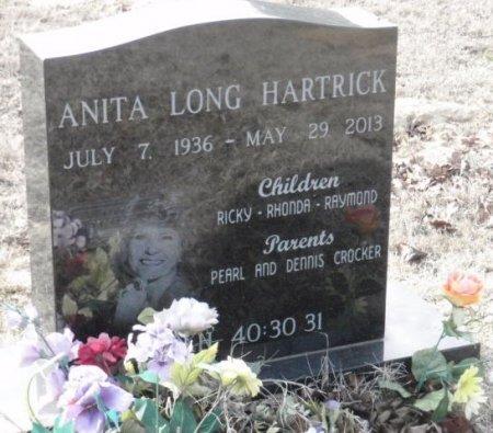 HARTRICK, ANITA - Red River County, Texas | ANITA HARTRICK - Texas Gravestone Photos