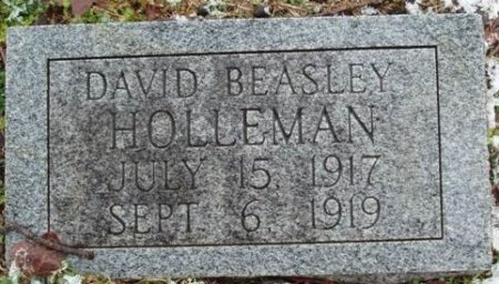 HOLLEMAN, DAVID BEASLEY - Red River County, Texas | DAVID BEASLEY HOLLEMAN - Texas Gravestone Photos