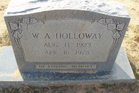 HOLLOWAY, W A - Red River County, Texas   W A HOLLOWAY - Texas Gravestone Photos