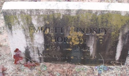 HORTON, EMMETT LINDSEY - Red River County, Texas | EMMETT LINDSEY HORTON - Texas Gravestone Photos