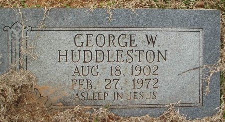 HUDDLESTON, GEORGE W - Red River County, Texas | GEORGE W HUDDLESTON - Texas Gravestone Photos