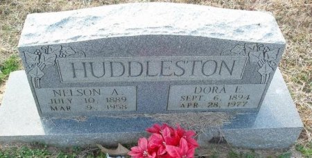 HUDDLESTON, NELSON A - Red River County, Texas | NELSON A HUDDLESTON - Texas Gravestone Photos