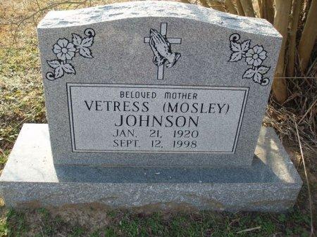JOHNSON, VETRESS - Red River County, Texas | VETRESS JOHNSON - Texas Gravestone Photos